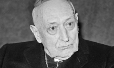 Kardinál József Mindszenty v roce 1974. (commons.wikimedia.org/CC BY-SA 3.0)
