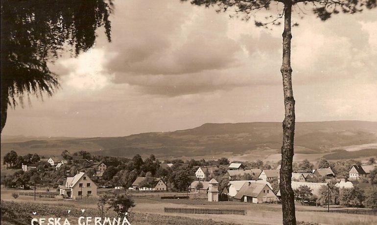 Obec Česká Čermná na Náchodsku (Fotosbírka Miloše Doležala)