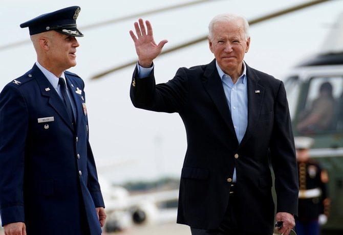 Americký prezident Joe Biden (twitter @arabnews)