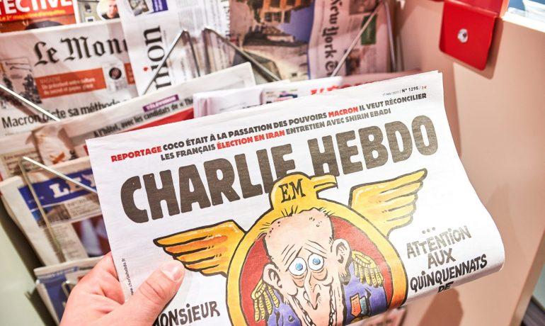 Francouzský satirický časopis Charlie Hebdo (AdobeStock)