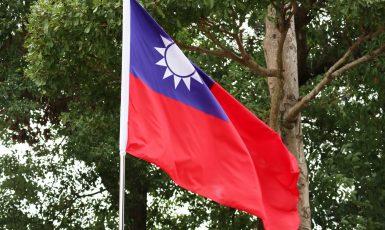 Vlajka Tchaj-wanu (AdobeStock)