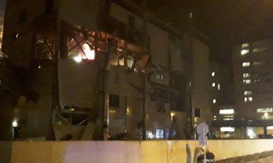 Výbuch v areálu společnosti Preol (HZS Ústeckého kraje)