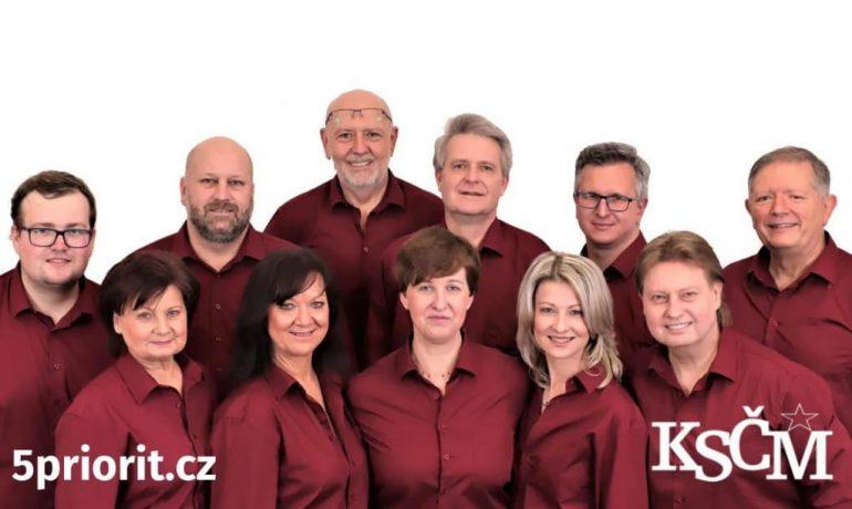 Lídři a lídryně komunistických kandidátek pro letošní sněmovní volby (KSČM / se svolením autora)