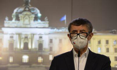 Premiér Andrej Babiš (ANO) na tiskové konferenci (ČTK/Šulová Kateřina)