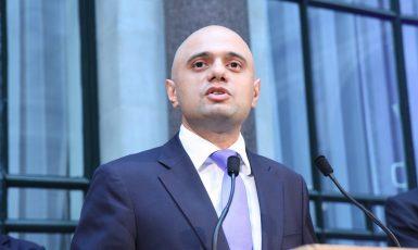 Britský ministr zdravotnictví Sajid Javid (Foreign and Commonwealth Office (OGL v1.0))