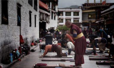 Džókhang, buddhistický chrám ve Lhase. (Pixabay/kantsmith)
