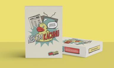 Nová karetní hra Nekrm Kachnu! učí, jak si ověřovat informace a odhalovat dezinformace (Nekrm Kachnu!)