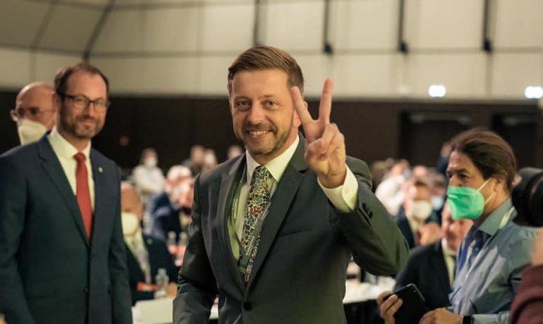 Předseda hnutí STAN Vít Rakušan.  (Hnutí Starostové a nezávislí / se souhlasem autora)