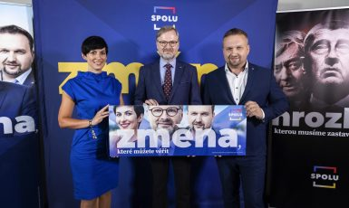Koalice SPOLU představuje hlavní témata do podzimní části volební kampaně. (ODS / Se svolením autora)