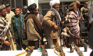 Bojovníci Talibanu. Ilustrační foto. (Department of Defens, Joe Painter / Wikimedia Commons (Attribution 2.0 Generic))