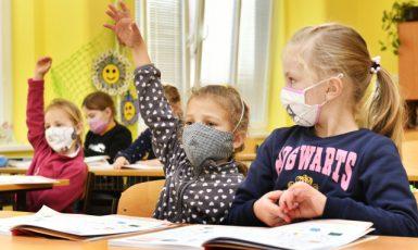 V Základní škole Josefa Hlávky v Přešticích (2020) – ilustrační foto (ČTK/Chaloupka Miroslav)