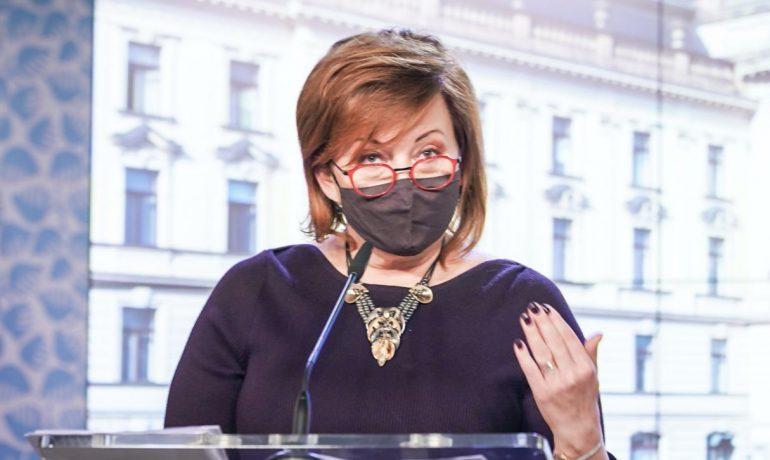 Ministryně financí Alena Schillerová (Úřad vlády)