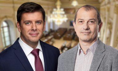 Jan Skopeček (ODS) a Věslav Michalik (STAN). (Občanská demokratická strana, hnutí Starostové a nezávislí)