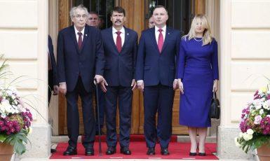 Summit prezidentů V4 v roce 2019 (ČTK)