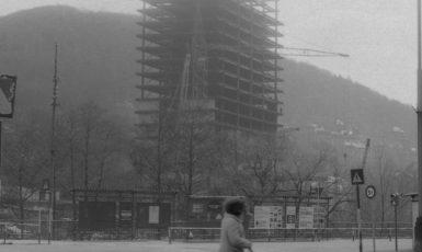Ze stavby hotelu Thermal (Věra Machoninová / se souhlasem autora)