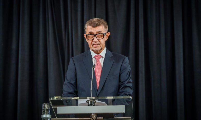Premiér Andrej Babiš (ANO) (Úřad vlády)