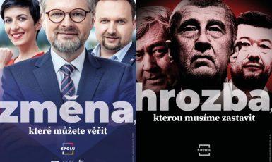 Pro voliče, na které se obrací koalice SPOLU, jsou volby o tom ukončit vládu Andreje Babiše (ODS / Se svolením autora)