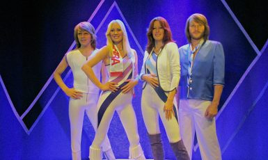 Hudební skupina ABBA (Graham C99 (schnappi) / Wikimedia Commons / CC BY 2.0)