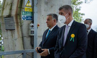 Návštěva maďarského premiéra Viktora Orbána v Ústeckém kraji (Ray Baseley/FORUM 24)