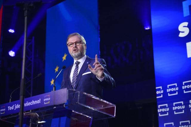 Lídr koalice SPOLU Petr Fiala (Zbyněk Pecák / se svolením autora)