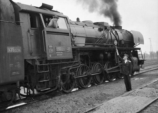 Parní vlak, Československo, ilustrační foto (ČTK)