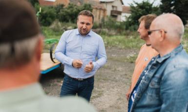 Předseda KDU-ČSL a lídr koalice SPOLU v Olomouckém kraji Marian Jurečka (ČTK)