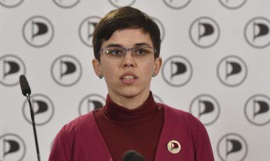 První místopředsedkyně Pirátů Olga Richterová (ČTK)