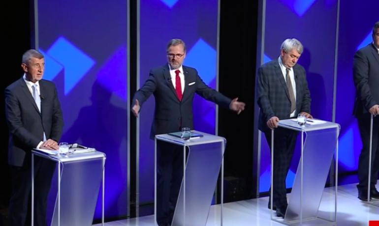 Debata na FTV Prima (profimedia.cz)