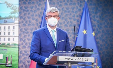 Ministr průmyslu a dopravy Karel Havlíček (Úřad vlády)