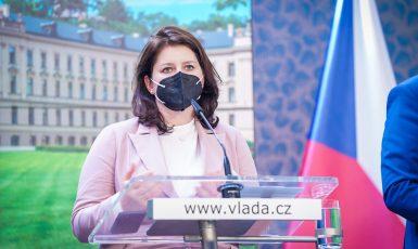 Ministryně práce a sociálních věcí Jana Maláčová (Úřad vlády)