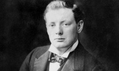 Winston Churchill v roce 1900. (commons.wikimedia.org/Public Domain)