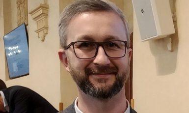Lidskoprávní aktivista z Krymu Nariman Dželjal (Liberálně ekologická strana / se svolením autora)