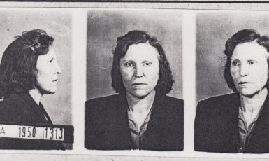 Marie Štěrbová, babička Zdeňka Klímy, v roce 1950.  (Foto: se souhlasem Post Bellum)