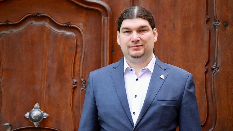 Pirátský poslanec Ondřej Profant. (Pirátská strana / s vědomím autora)