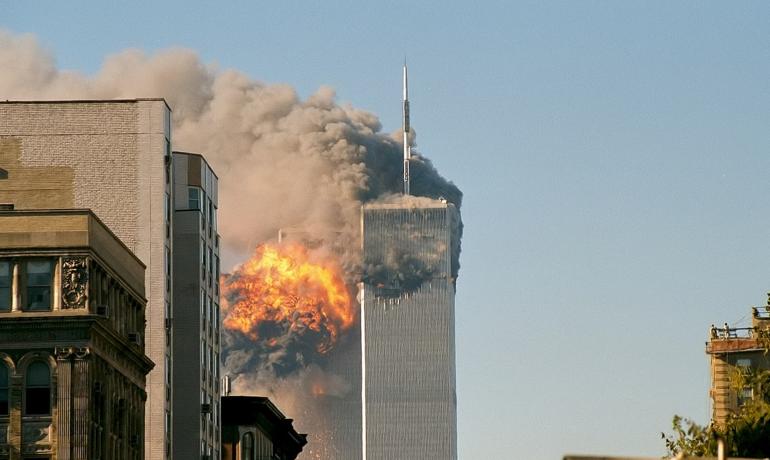 Teroristické útoky v USA 11. září 2001 (Robert J. Fisch / Wikimedia Commons / CC BY-SA 2.0)