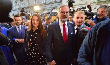 Petr Fiala se svou manželkou Janou (Zbyněk Pecák / se svolením autora)
