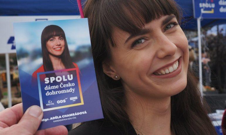 Adéla Chamrádová (SPOLU / se souhlasem autora)