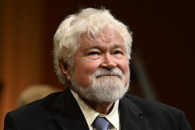 Petr Pithart při projevu v pražském Rudolfinu (16. 11. 2019) (ČTK/Deml Ondřej)
