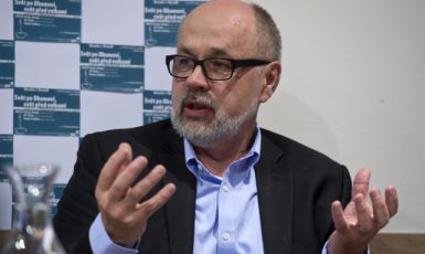Politolog Jiří Pehe. (ČTK/Kamaryt Michal)