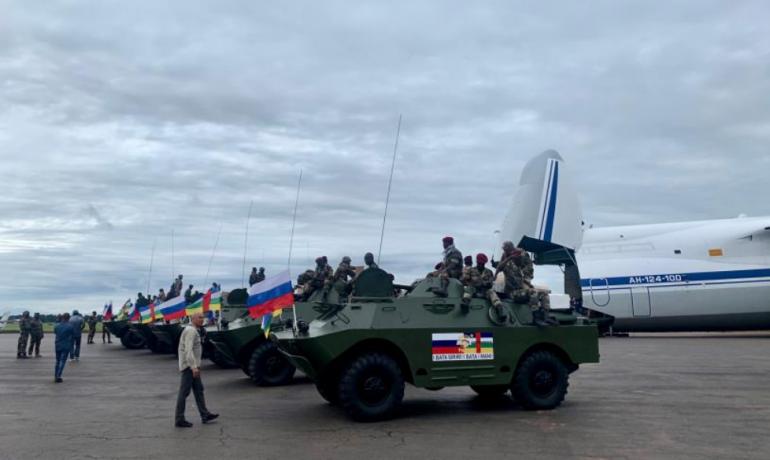 Rusové ve Středoafrické republice (říjen 2020) (wikimedia commons (UN Security Council))