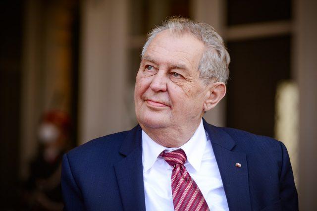 Miloš Zeman (Kancelář prezidenta republiky / se svolením autora)