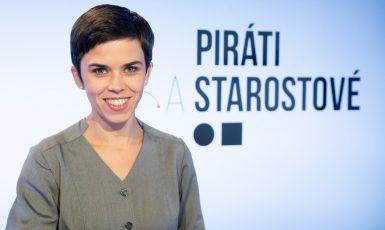 Olga Richterová, lídryně Pirátů a Starostů v Praze. (Profimedia.cz)